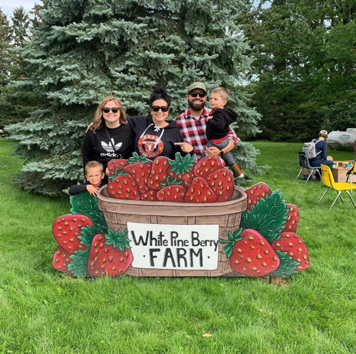White Pine Berry Farm River Falls Wisconsin Hipster Hack